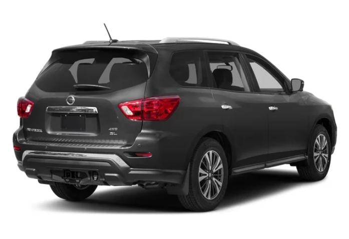 2019 Nissan Pathfinder 4x4 design