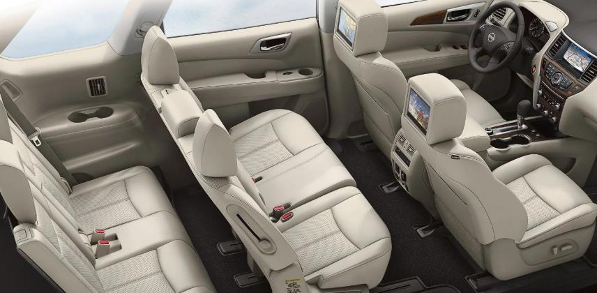 2019 Nissan Pathfinder SV design