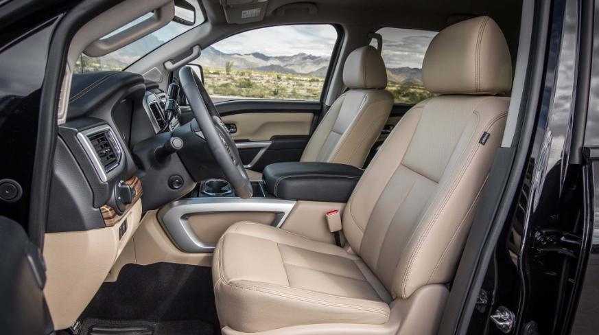 2019 Nissan Titan Crew Cab redesign