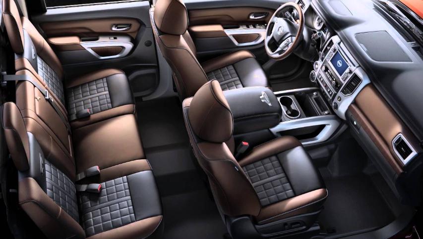 2020 Nissan Titan Platinum Reserve concept