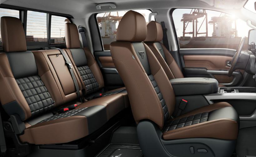 2020 Nissan Titan Towing Capacity