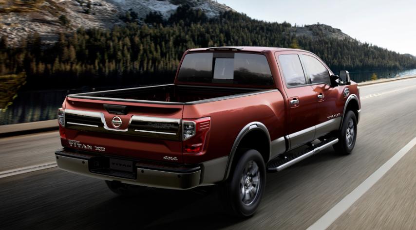 2019 Nissan Titan Platinum Reserve design