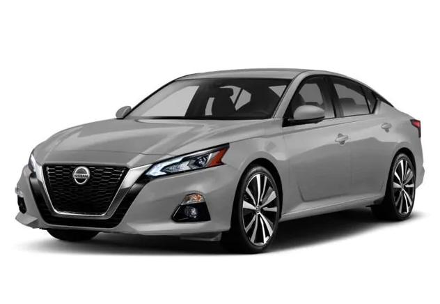 2019 Nissan Altima 2.5 SV design