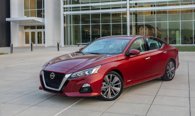 2019 Nissan Altima 3.5 SR changes
