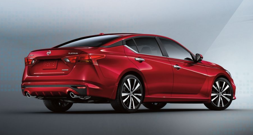 2019 Nissan Altima All Wheel Drive redesign