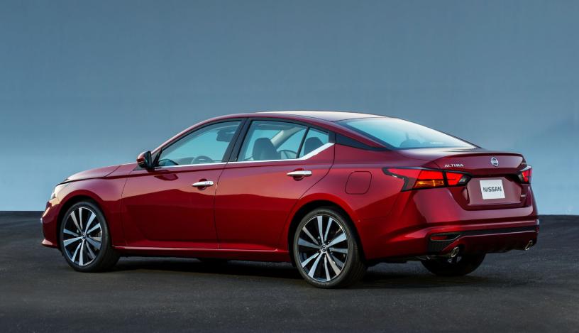 2019 Nissan Altima V6 redesign