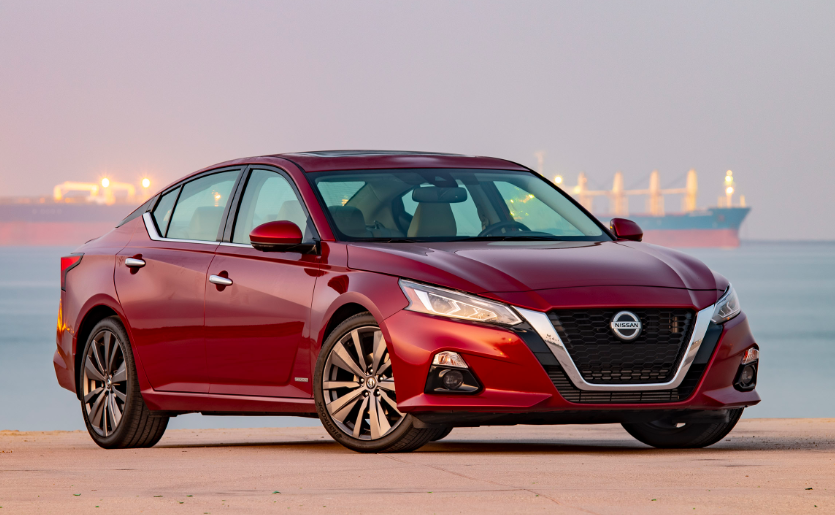 2020 Nissan Altima Turbo changes