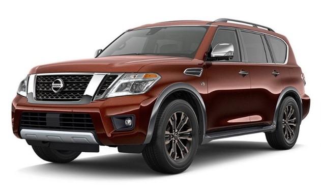 2020 Nissan Armada Automatic Transmission