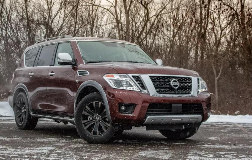 2019 Nissan Armada SV concept
