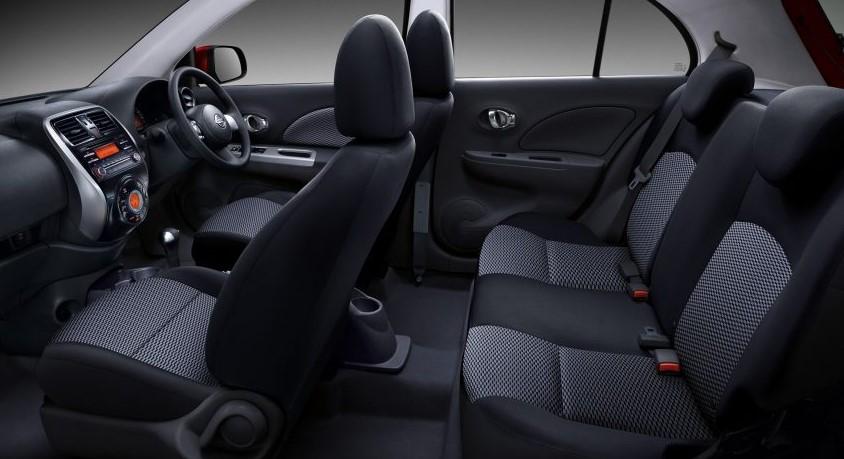 2019 Nissan March Mexico interior