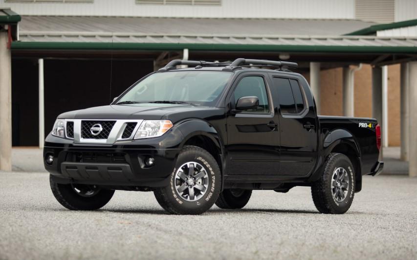 2019 Nissan Frontier 4x4 design