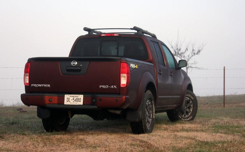 2019 Nissan Frontier Nismo changes