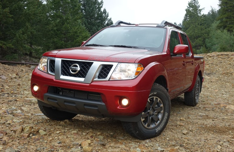 2019 Nissan Frontier Prototype changes