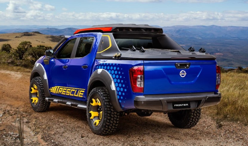2019 Nissan Frontier Sentinel concept