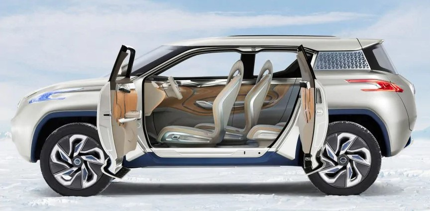 2019 Nissan Terra Hydrogen Fuel-Cell SUV
