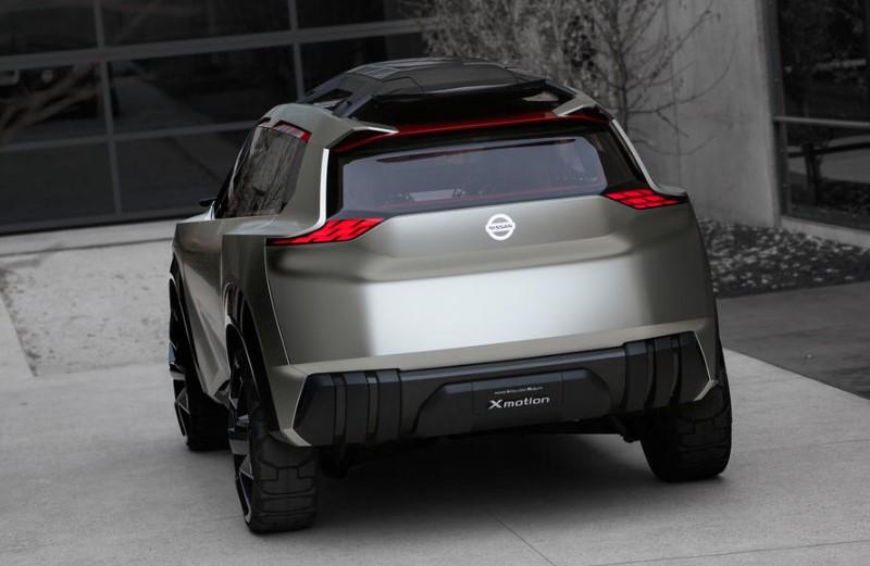 2019 Nissan Xmotion SUV interior