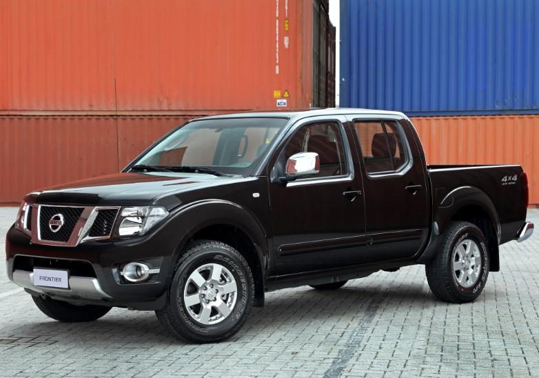 2019 Nissan Frontier Truck design