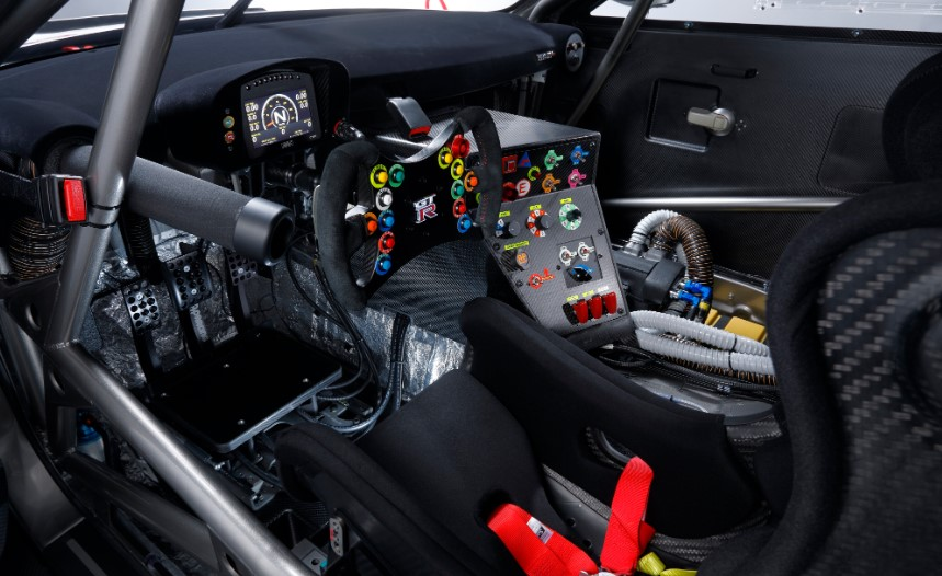 2019 Nissan GT-R Nismo GT3 interior