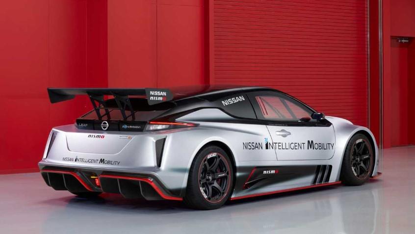 2020 Nissan Leaf Nismo RC changes