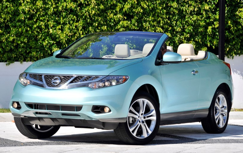 2020 Nissan Murano Convertible changes