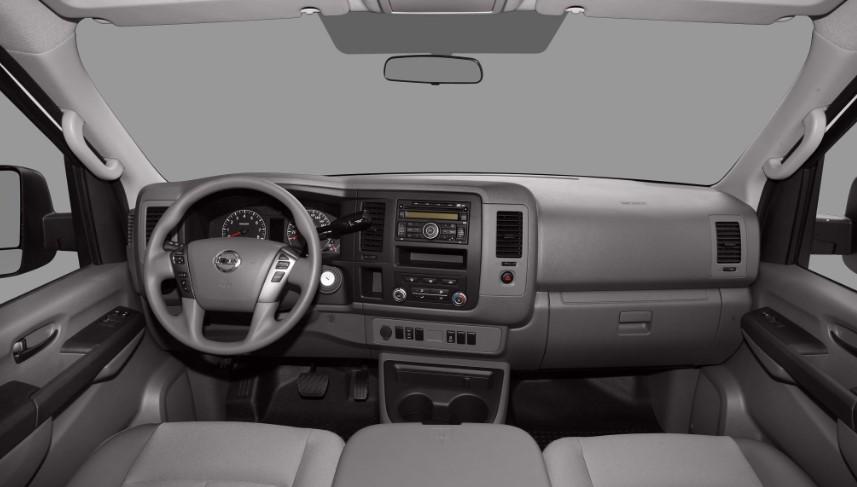 2020 Nissan NV1500 interior