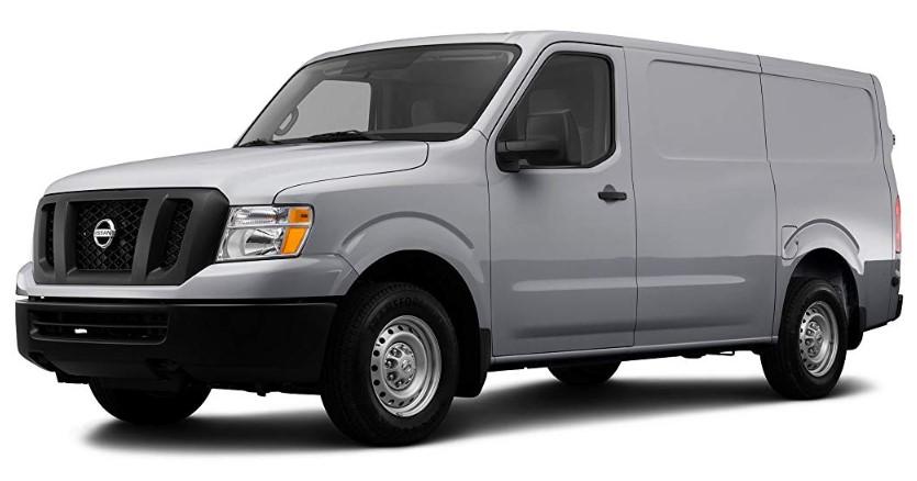 2020 Nissan NV1500 changes