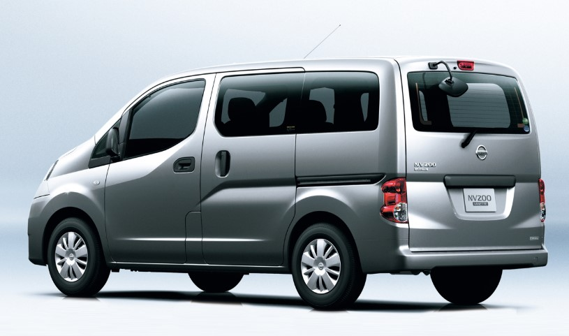 2020 Nissan NV200 changes