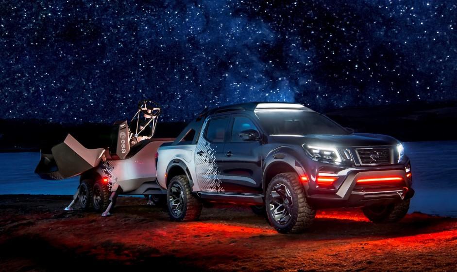 2020 Nissan Navara Dark Sky changes