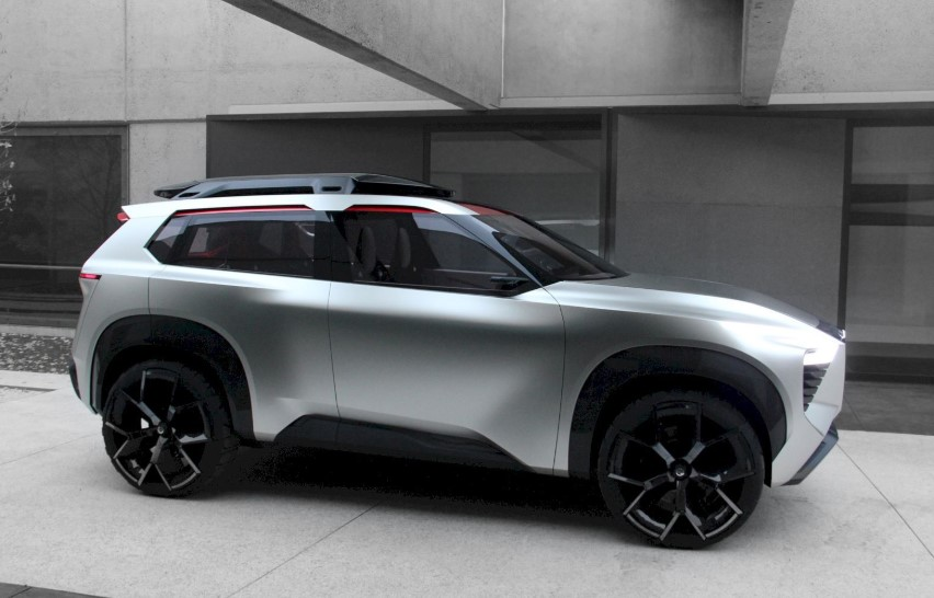 2020 Nissan Rogue Sport concept