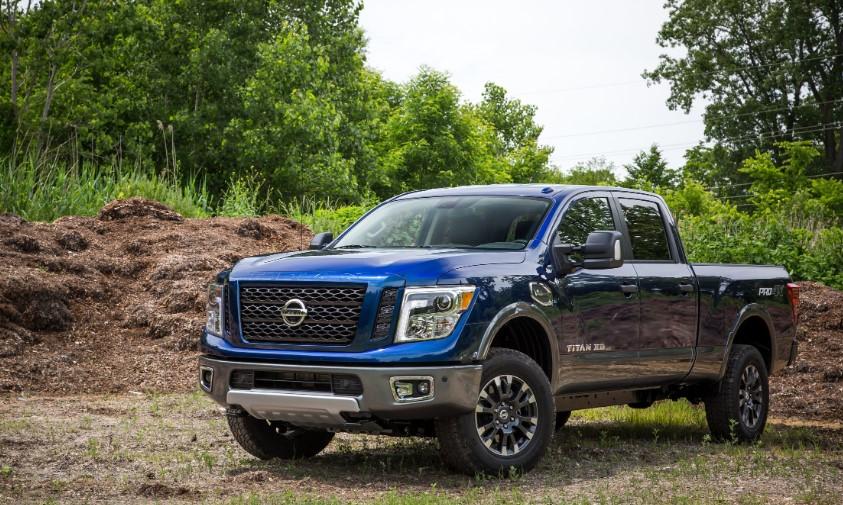 2020 Nissan Titan SV changes