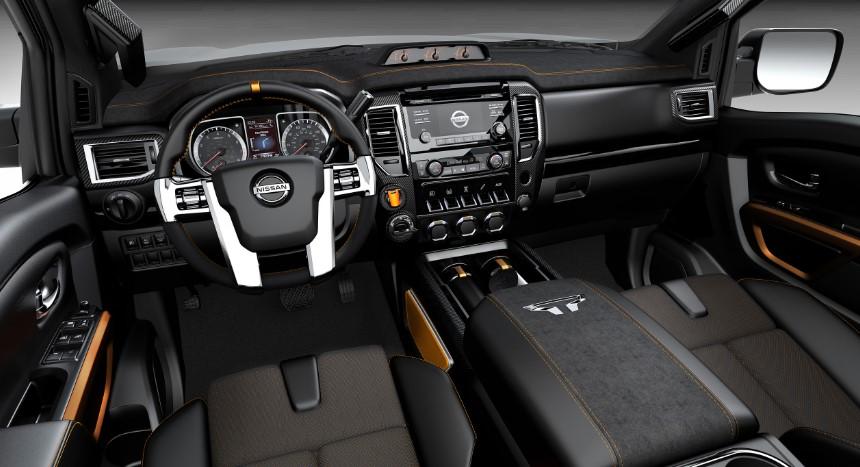 2020 Nissan Titan Warrior changes