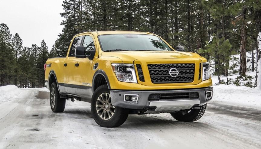 2020 Nissan Titan XD Diesel concept