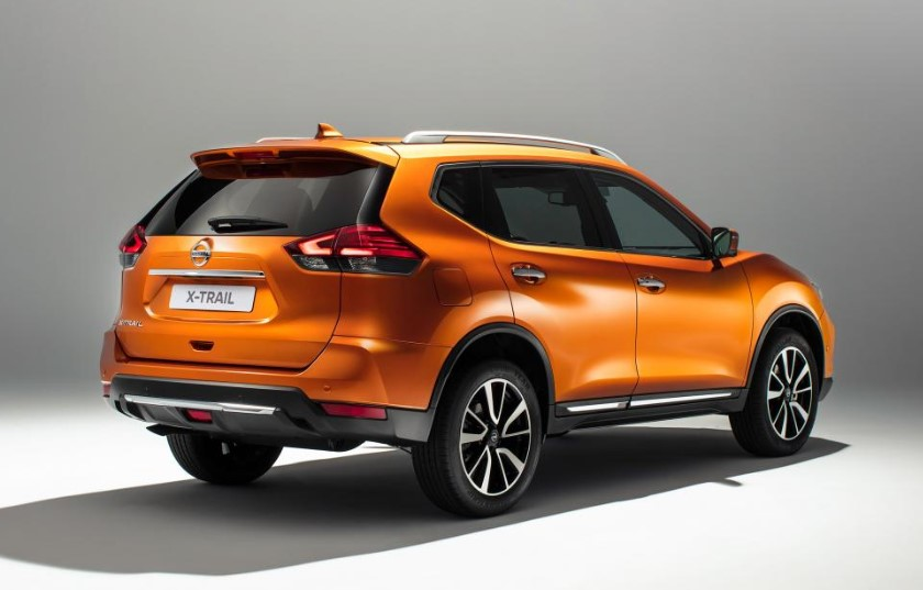 2020 Nissan X-Trail TL 4WD changes