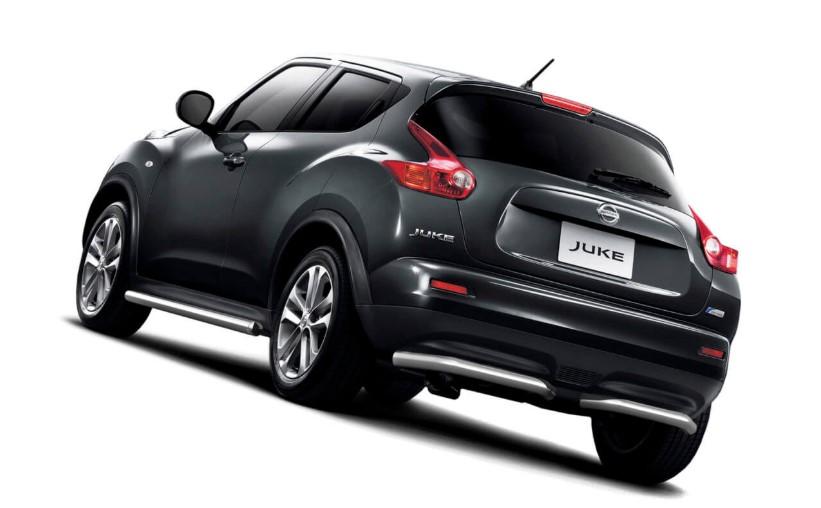 2020 Nissan Juke SL changes