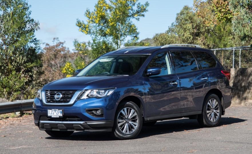 2020 Nissan Pathfinder SV changes