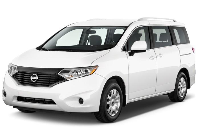 2020 Nissan Quest Van changes