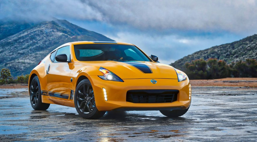 2020 Nissan 370Z Heritage Edition changes