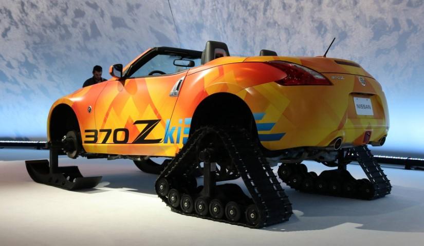 2020 Nissan 370Zki Roadster concept