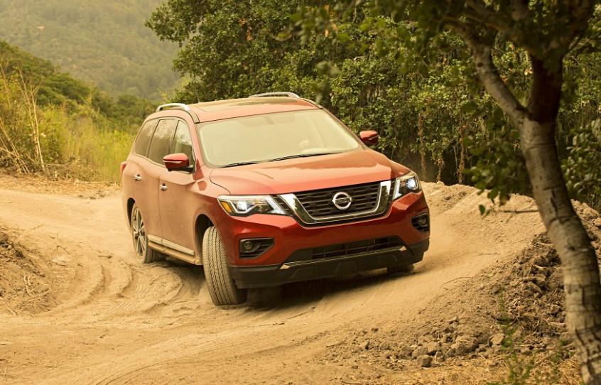 2020 Nissan Pathfinder Off-Road