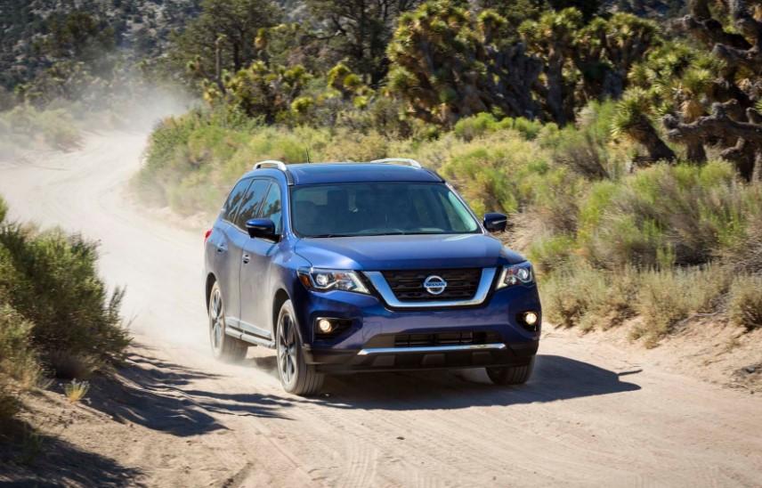 2020 Nissan Pathfinder Off-Road changes