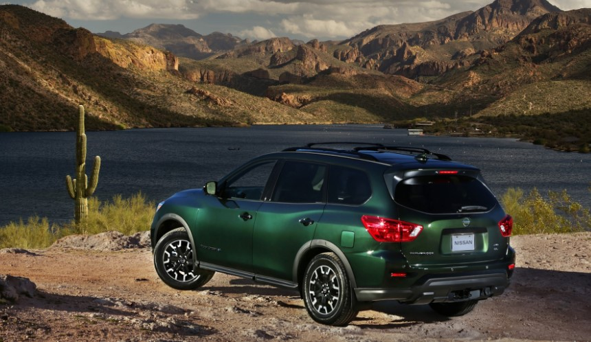 2020 Nissan Pathfinder Rock Creek Edition concept