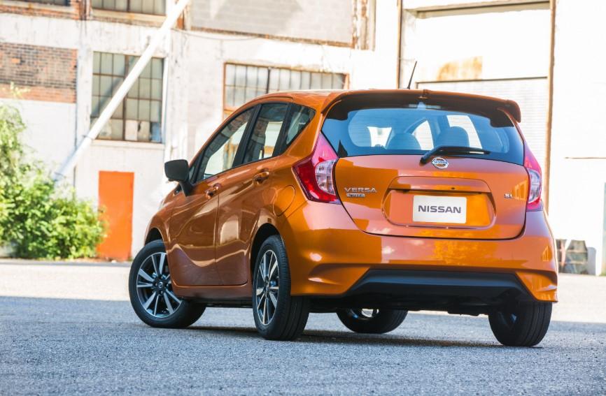 2020 Nissan Versa Note V-Motion changes