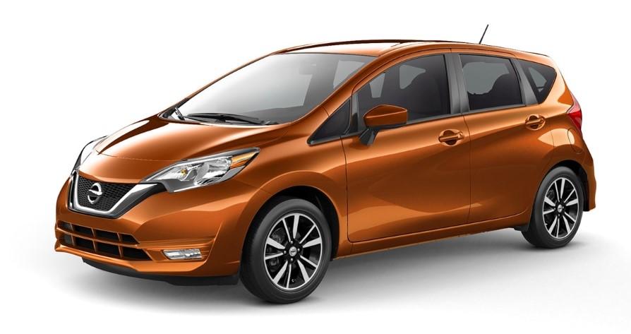 2020 Nissan Versa Note changes