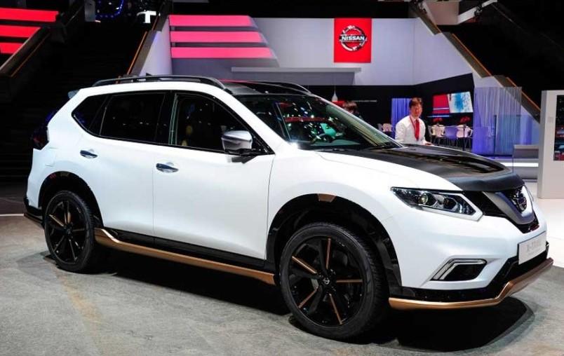 2020 Nissan X-Trail V-Motion design