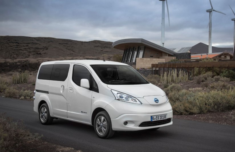 2020 Nissan e-NV200 MPV changes