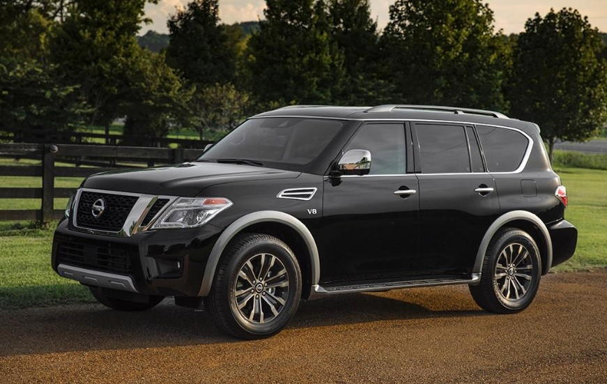 2020 Nissan Armada SV concept