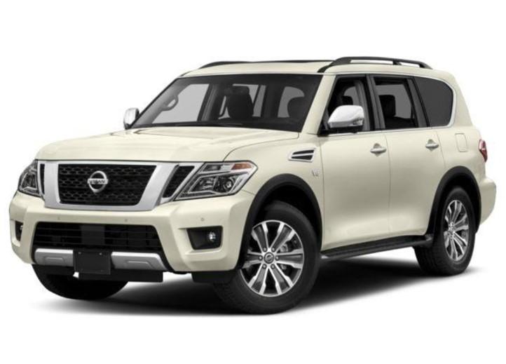 2020 Nissan Armada SL design