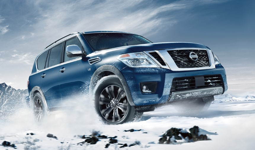 2020 Nissan Armada Towing Capacity