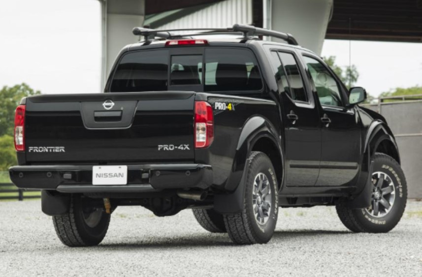 2020 Nissan Frontier Pro 4x Crew Cab release date