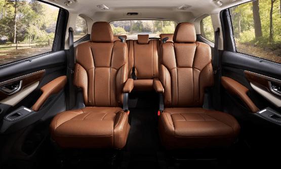 2020 Subaru Ascent Towing Capacity Interior